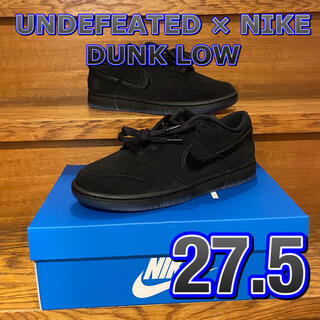 NIKE - ダンク ロー UNDEFEATED