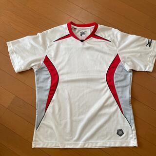 ミズノ(MIZUNO)のミズノベースボールTシャツ(ウェア)