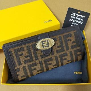 フェンディ(FENDI)の完売品セール! FENDI / Tobacco Zucca ヴィンテージ 長財布(財布)