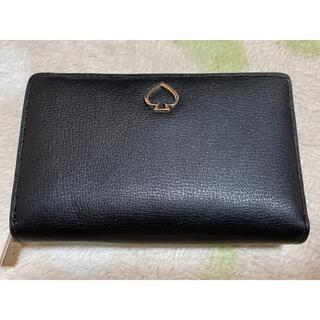 ケイトスペードニューヨーク(kate spade new york)の新品未使用 ケイトスペード 財布 折り財布 ブラック(財布)