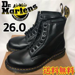 ドクターマーチン(Dr.Martens)の【新品】ドクターマーチン 8ホール 8アイ ブーツ ブラック 1460 26.0(ブーツ)