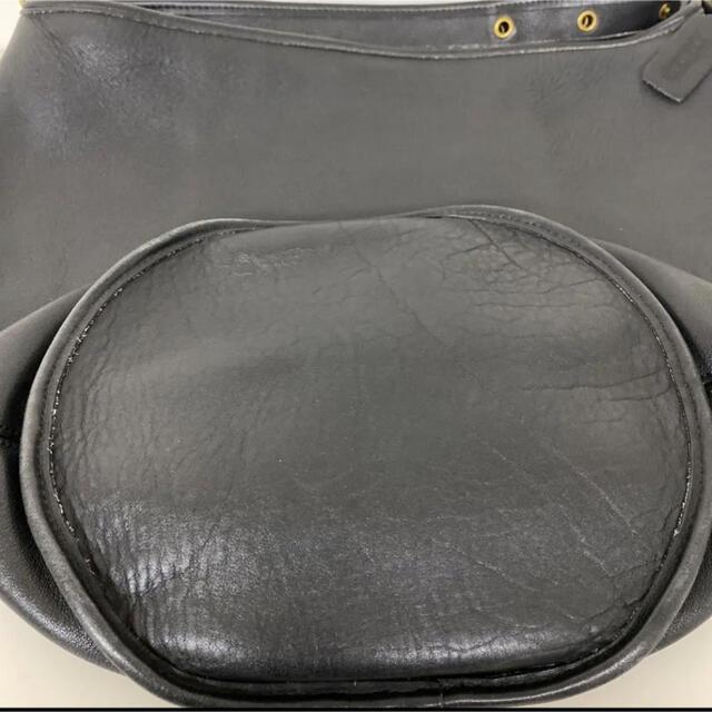 COACH(コーチ)の極美品 オールドコーチ バケツ ショルダーバッグ ブラック OLD COACH レディースのバッグ(ショルダーバッグ)の商品写真