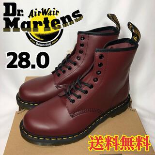 ドクターマーチン(Dr.Martens)の【新品】ドクターマーチン 8ホール ブーツ チェリーレッド 28.0(ブーツ)