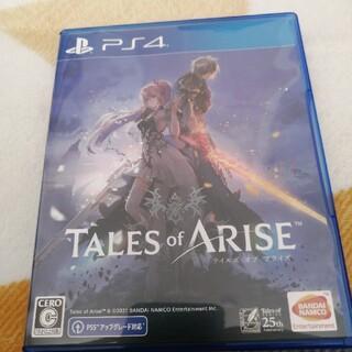 PlayStation4 - テイルズオブアライズ PS4 プロダクトコード未使用