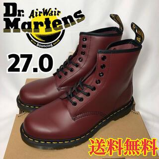 ドクターマーチン(Dr.Martens)の【新品】ドクターマーチン 8ホール ブーツ チェリーレッド 27.0(ブーツ)