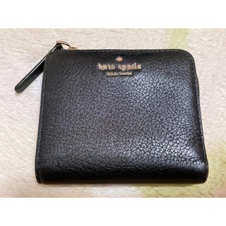 kate spade new york - 新品未使用 ケイトスペード 財布 折り財布 ブラック