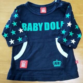 ベビードール(BABYDOLL)のベビードール7分丈トップス(Tシャツ/カットソー)