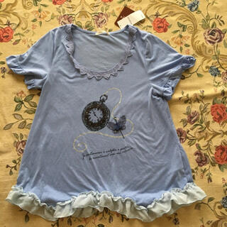 アクシーズファム(axes femme)の(スマートレター)新品アクシーズファムレディース半袖Tシャツ値下げ不可(Tシャツ(半袖/袖なし))