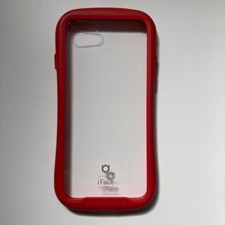 iPhone - iFace 第2世代 se2 8 7 透明 クリア 強化ガラス