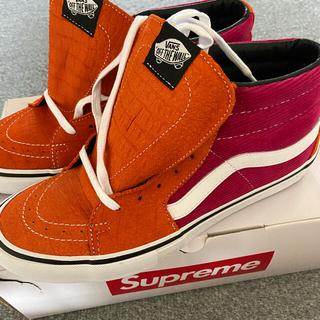 Supreme - supreme  vans Sk8-Mid バンズ スケハイ
