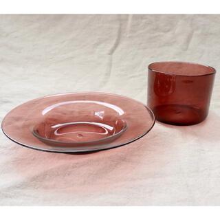 未使用★黒川登紀子さん プレートとカップのセット