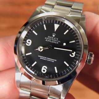 ロレックス(ROLEX)の279万★ロレックス エクスプローラーI Ref.1016 R品番 1988年(腕時計(アナログ))