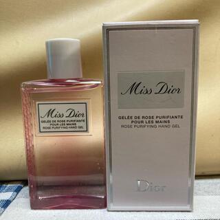 クリスチャンディオール(Christian Dior)のミスディオール ハンドジェル クリスチャンディオール  1回のみ使用(香水(女性用))