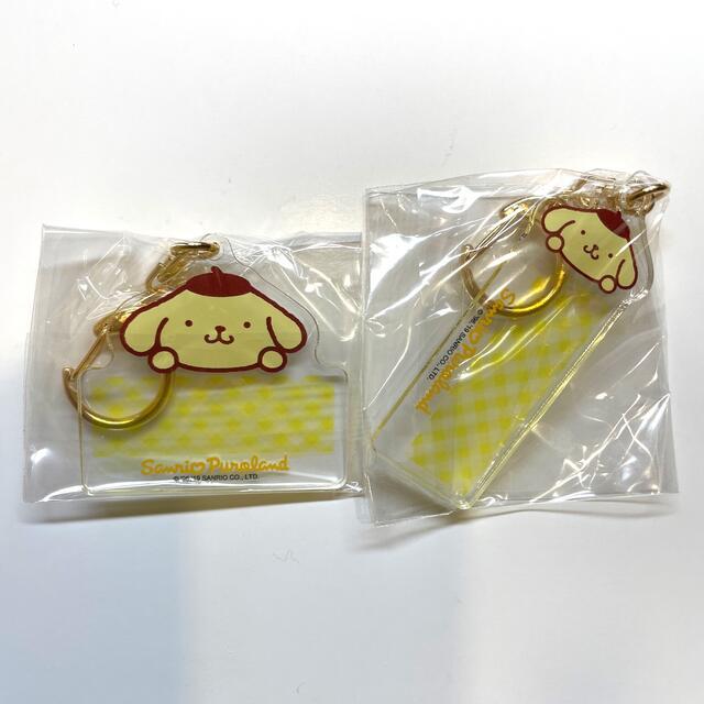 ポムポムプリン(ポムポムプリン)のポムポムプリン ネームタグ エンタメ/ホビーのおもちゃ/ぬいぐるみ(キャラクターグッズ)の商品写真