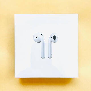 Apple - 【お買得☆新品未開封】Apple AirPods 第2世代 MRXJ2J/A