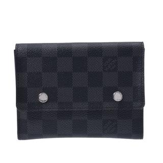 ルイヴィトン(LOUIS VUITTON)のルイヴィトン ダミエ グラフィット コンパクト モデュラブル 二つ折り財布(折り財布)