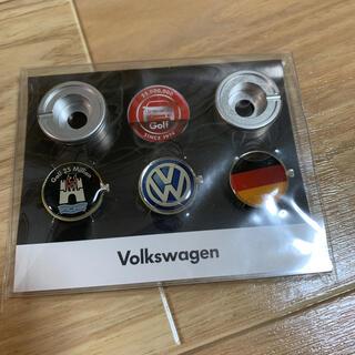 フォルクスワーゲン(Volkswagen)の volkswagen ナンバープレートピンズ 非売品(車外アクセサリ)