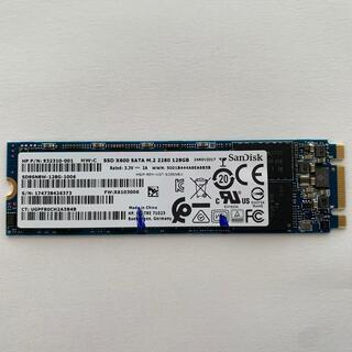 サンディスク(SanDisk)のSSD M.2 2280 128GB(PCパーツ)