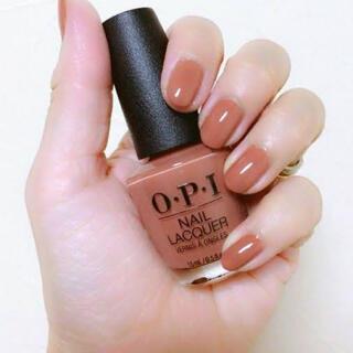 オーピーアイ(OPI)のO.P.I OPI ネイルラッカー chocolate moose NL C89(マニキュア)