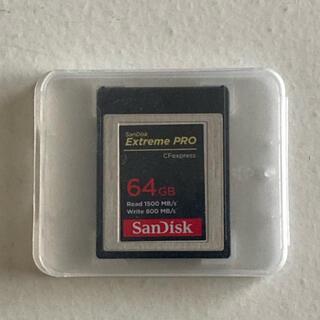 SanDisk - SanDisk 64GB CFexpress Type B ExtremePRO