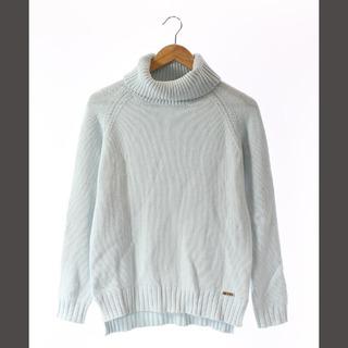 レディー(Rady)のレディ Rady ニット セーター タートルネック 長袖 水色 F(ニット/セーター)