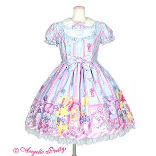 Angelic Pretty - Toy Doll Box サックス ワンピース