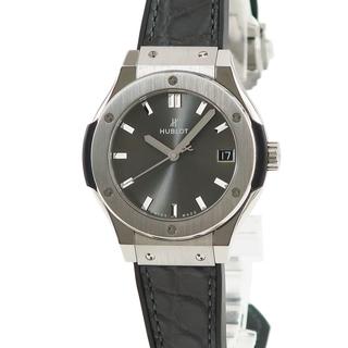 ウブロ(HUBLOT)のウブロ  クラシック フュージョン チタニウム レーシンググレー 581(腕時計)