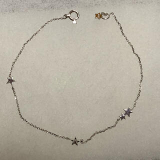 STAR JEWELRY - スタージュエリー 10kホワイトゴールド ブレスレット