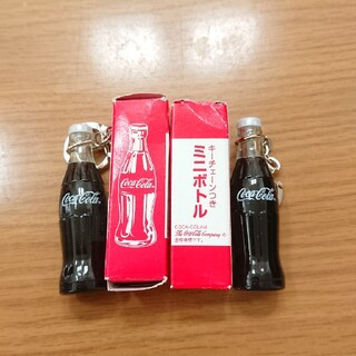コカコーラ(コカ・コーラ)のコカ・コーラキーホルダー(ノベルティグッズ)