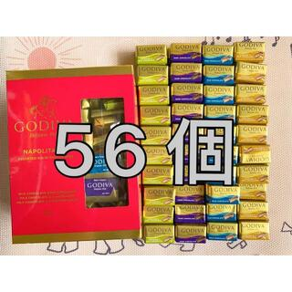 コストコ(コストコ)のGODIVAゴディバナポリタンチョコレート 56個(菓子/デザート)