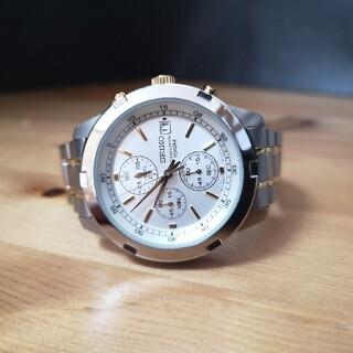 SEIKO - seiko chronograph 100m 腕時計メンズ