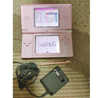 ニンテンドーDS - Nintendo DS lite ピンク 充電ケーブル