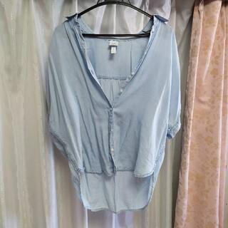 エイチアンドエム(H&M)のH&M シャツ 羽織 軽い!(シャツ/ブラウス(長袖/七分))