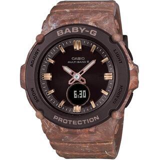 カシオ BABY-G チョコレートアイス 電波ソーラー 腕時計 ブラウン