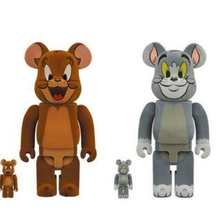 BE@RBRICK Tom&Jerry 400%+100%(その他)