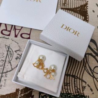 ディオール(Dior)の【美品】ディオール Dior ピアス(ピアス)