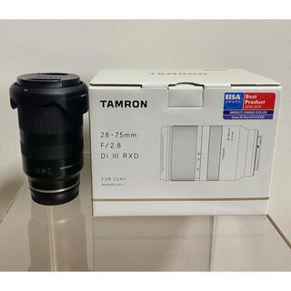 TAMRON - tamron 28-75 sony f2.8 タムロン
