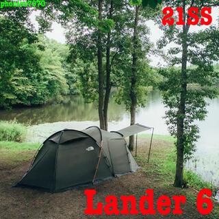 ザノースフェイス(THE NORTH FACE)のノースフェイス ランダー6【NV22100】テント Lander6 新品・未開封(テント/タープ)