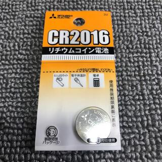 ミツビシデンキ(三菱電機)の◎新品〒リチウムコイン電池 3V CR2016 1個パック 1つ(日用品/生活雑貨)