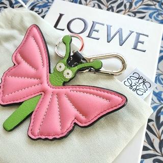 LOEWE - 最終値下☆未使用品☆LOEWE☆キーホルダー☆バタフライ