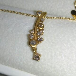 bijou SOPHIA K18 ダイヤモンド ネックレス ペンダント フラワー