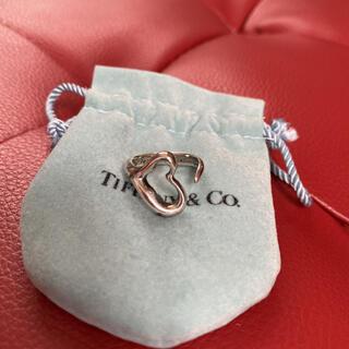 Tiffany & Co. - ティファニーオープンハートシルバーリング