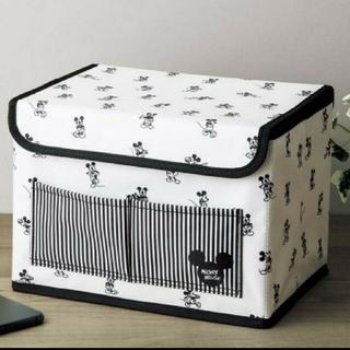 《付録》ミッキーマウスデザイン収納ボックス