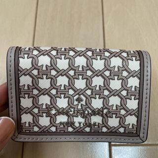 ケイトスペードニューヨーク(kate spade new york)のケイトスペード kate spade 三つ折り財布 財布 ウォレット ブラウン(財布)