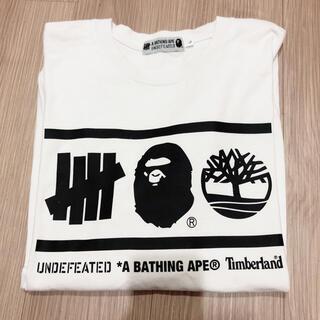 アベイシングエイプ(A BATHING APE)のベイシングエイプコラボ ロンT(Tシャツ/カットソー(七分/長袖))