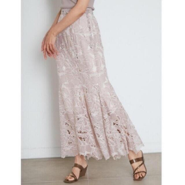 snidel(スナイデル)の新品 スナイデル カッティングレースマーメイドスカート レディースのスカート(ロングスカート)の商品写真