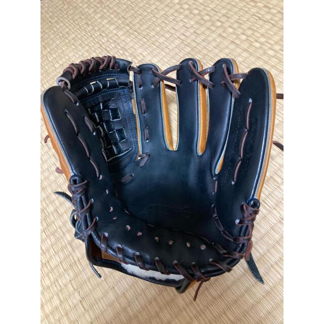 MIZUNO(ミズノ)のアトムズ ATOMS 硬式軟式兼用 限定モデル 内野 オールラウンド 美中古 スポーツ/アウトドアの野球(グローブ)の商品写真