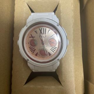 ベビージー(Baby-G)の新品未使用  ベビーG  ピンク/ホワイト(腕時計)