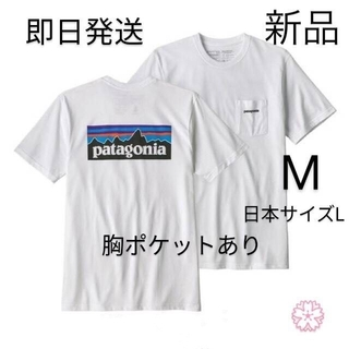patagonia - 送料無料 パタゴニア P-6 ポケット Tシャツ Mサイズ 国内正規品 ホワイト