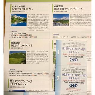 白馬八方尾根、白馬岩岳、栂池高原グリーンシーズン50%割引(その他)